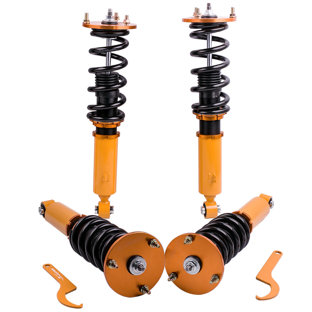 Coilovers Shock for Toyota Supra A70 JZA70 MA70 GA70 Shock Struts 1986-1992 Absorber Spring  Springs Lowering Kit title=