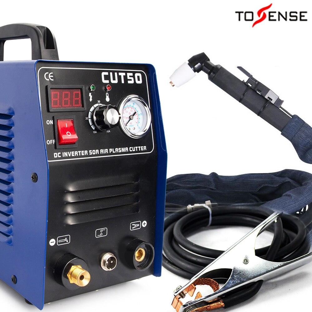 Freies verschiffen CUT50 Plasma Cutter Welder Maschine 110/220V spannung 50A Plasma Cutter Mit PT31
