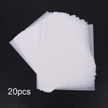 20 Sheets Puzzle Saver Peel Large Clear Glue Preserver Transparent Adhesive Backing