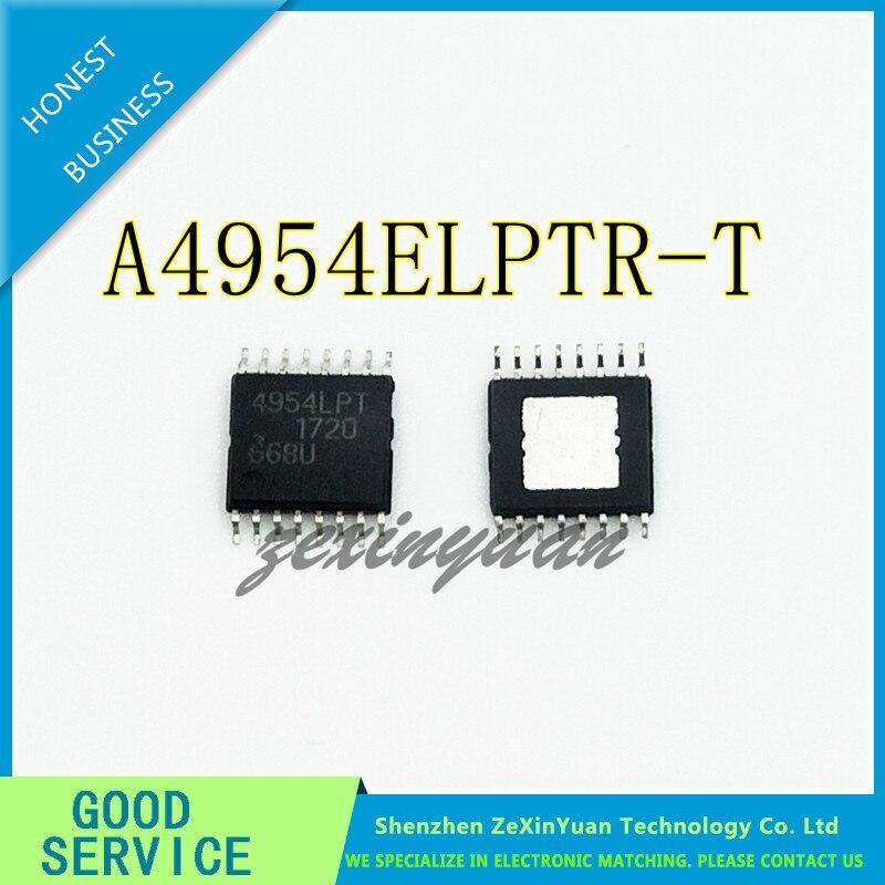 10PCS/LOT A4954ELPTR-T A 4954LPT A4954ELP A4954 TSSOP16  Full Bridge Microstepping Motor Driver IC