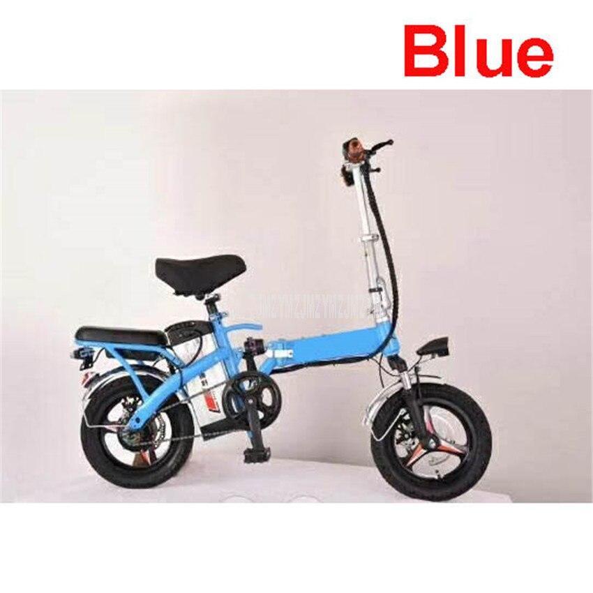 240W Mini Faltbare Elektrische Fahrrad Zwei Person Sitz Elektrische Fahrrad Ebike Für Männer/Frauen 48V 13Ah/15,6 Ah/20Ah/25Ah Lithium-Batterie