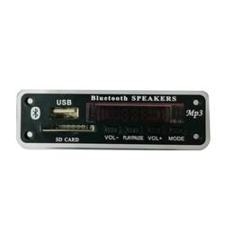 Bluetooth 5.0 rádio 5 v 12 v receptor de áudio sem fio carro kit módulo fm mp3 player decodificador placa usb 3.5mm aux