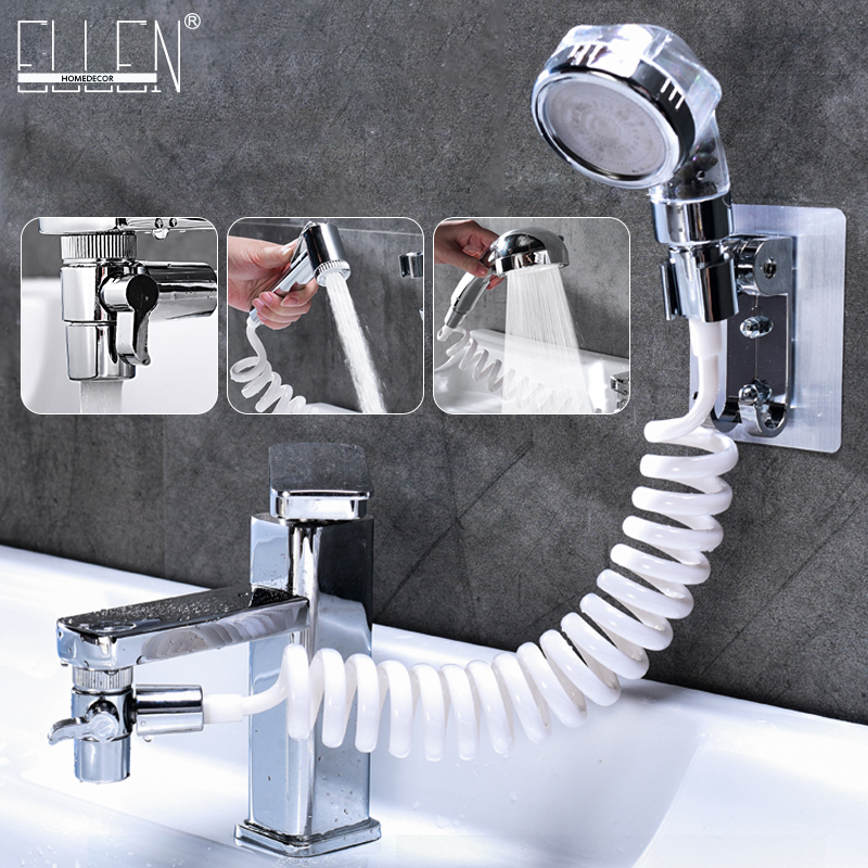 ELLEN Faucet External Shower Hand Toilet Faucet Filter Flexible Suit Wash Hair House Kitchen Sink Faucet Water Saving EL1020