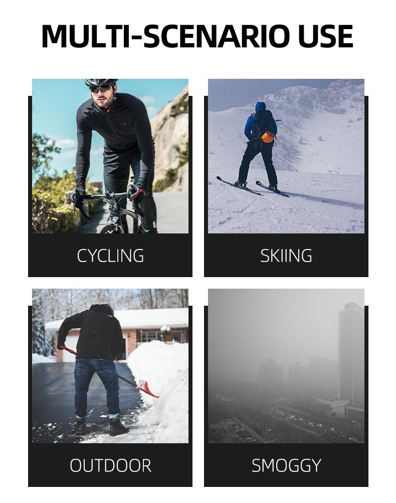 H9d49768e4640440485df62ee5daed009O - Winter Ski Mask Cycling Skiing Running Sport Training Face Mask Balaclava Windproof Soft Keep Warm Half Face Mask