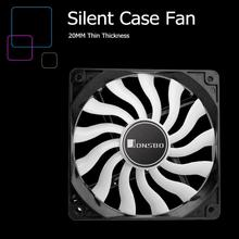 JONSBO 12cm Mini Silent PC Case Cooling Fan 3Pin 4Pin Chassis Quiet Radiator