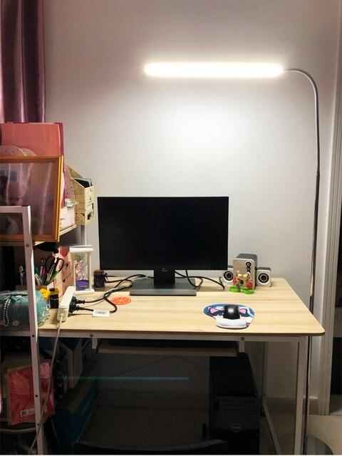 Фото светодиодный напольный светильник для защиты глаз гостиной спальни