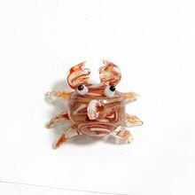 Плавающий стеклянный кулон в виде морских животных Рождественский