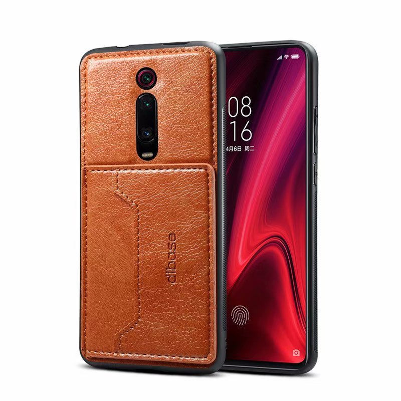 For Xiaomi Mi 9T 9 Lite SE CC9 CC9E A3 8 6X A2 Mix 3 POCOPHONE F1 Redmi K20 Note 8T 7 Pro Case Leather Card Slot Cover Holder