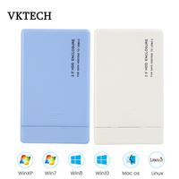 VKTECH 2.5 inch HDD Enclosure SATA to USB 3.0 Adapter HDD Case high-speed 6GB/S Hard Drive Box Support SSD solid-state hard disk