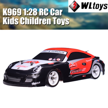 цена на Wltoys K969 RC Car 1:28 Four-wheel 4WD Drive Off-road Remote Control 2.4G Alloy Chassis 30km High-speed Kids Children Toys