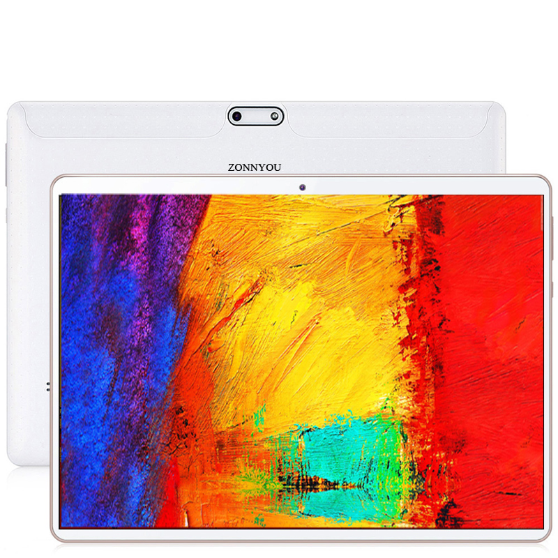 10.1 Inch Tablet PC 4G/3G Phone Call 4GB/64GB Octa Core Android 8.1 MTK6753 Wi-Fi Bluetooth Dual SIM Tablet PC+планшет