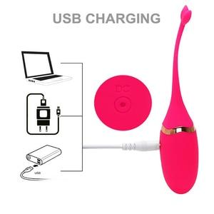 Image 5 - Vibrator wireless jump egg female flirting masturbator shrink penis adult products Choose any three More style