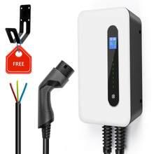 Chargeur de voiture électrique 32a avec câble de Station de charge, 1Phase, avec prise de Type 2, 62196 kw, niveau 2, EVSE, IEC,-2, Standard pour Tesla