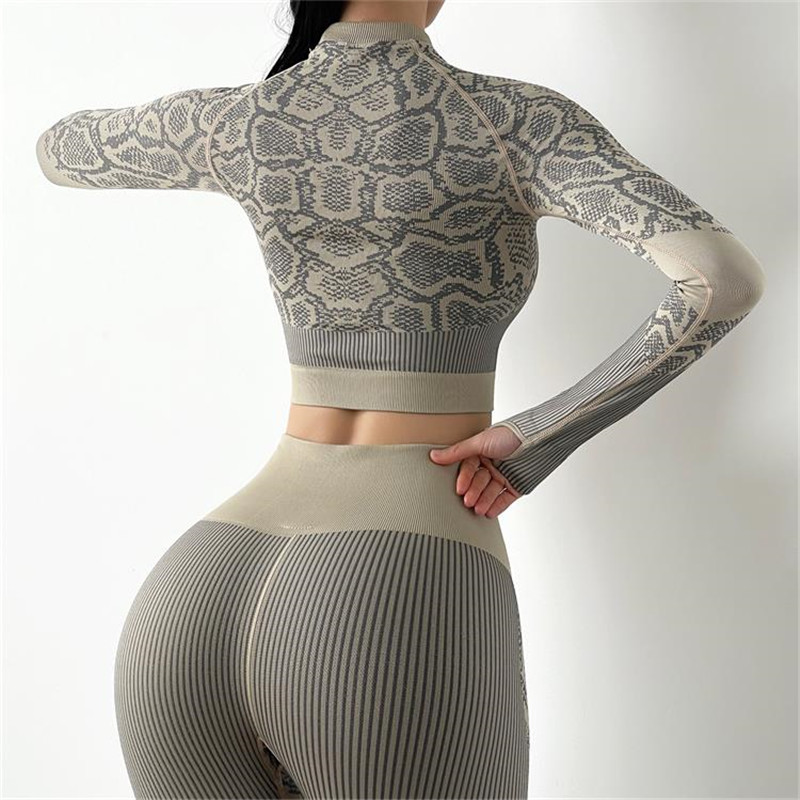 Long Sleeve Gym Crop Top Women Sports Yoga Top Fitness T-Shirts Sport Active Wear Workout Athletic Shirt Sport9s