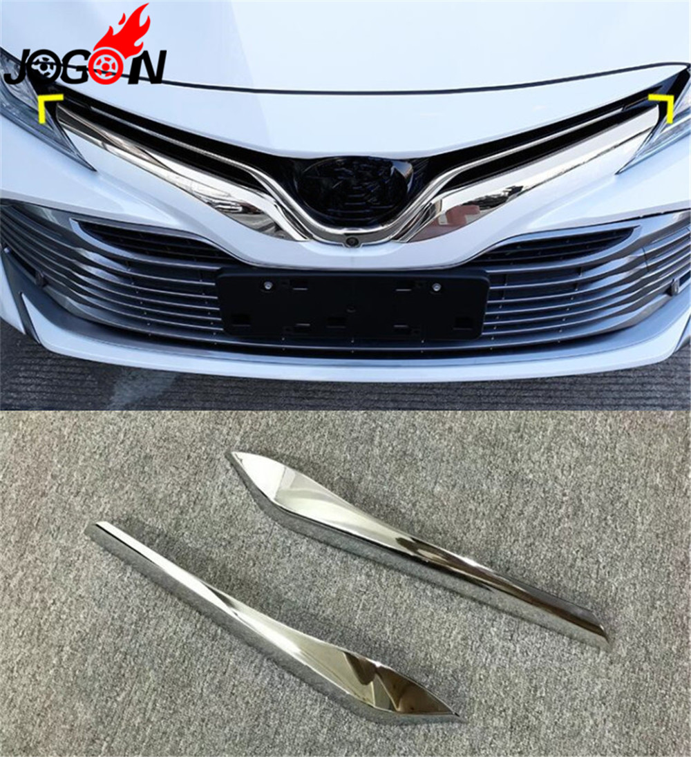 GHXSport Chrome Top Half Side Mirror Cover 2 Pcs Set for Toyota Camry 2018-2020 XLE SE LE Hybrid