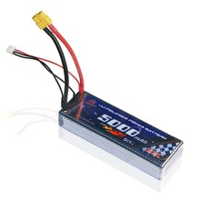цена на 2S Lipo Battery 60C 7.4V 5000mAh XT60 JST-XH for RC helicopter Cars Airplane Quadcopter Boat 4x4 1/8 1/10 remote control toys