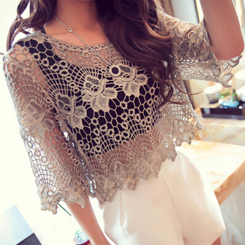 Grey White Bridal Shawl Top Shrug Lace Floral Bolero For Women Short Wedding Jacket Bolero Femme Mariage Party Cape Dress