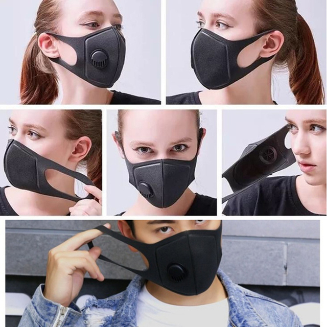 PM2.5 Air Pollution Mask Anti Dust Smoke bacteria proof Flu Face Mask Washable Reusable Mouth Mask 5