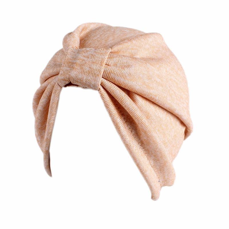 Новинка 2020 женские шапки тюрбаны с узлом шапка хиджаб в исламском