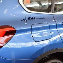 Светоотражающие Белый автомобиля окно наклейка м производительность двери сторона тела наклейка для BMW Е30 Е36 Е39 Е46 Е60 Е70 Е87 Е90 Е92 электронные аксессуары