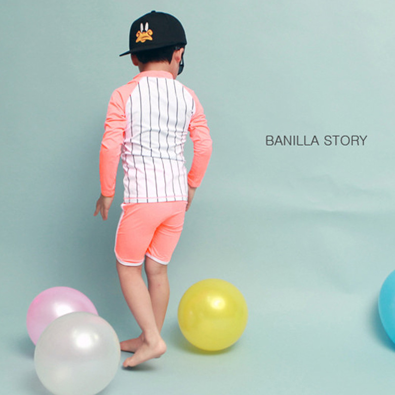 Boy Split Swimsuit 2019 New Style Korean-style Children Swimming Suit Baby Sun-resistant Tour Bathing Suit Students Quick-Dry Sw
