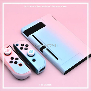 Image 5 - Funda desmontable de policarbonato para Nintendos Nintendo Switch NS NX, cubierta de espalda protectora dura, ultrafina