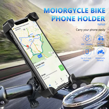 Universal Motorcycle Bicycle Phone Holder 360 Degree Bike Handlebar Mount Holder phone Clip Stand Bracket for iPhone 8 Samsung 360 degree rotate bicycle phone gps holder motorcycle bike handlebar phone clip mount bracket moto bike phone support rack stand
