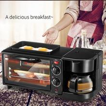 Breakfast Machine Toaster Electric Oven Practical Convenient Multi-Function 3 in 1 1050W 50HZ Kitchen Sandwich Maker Household