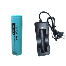 1/2 sztuk PKCELL ICR 18650 bateria 2600mah 3.7V litowa akumulator baterii i 1Slot 18650 ładowarka litowo jonowa