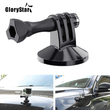 GloryStar For Gopro 876543S OSMO XIAOMI YI Camera Accessory Magnetic Car Suction Cup Tripod Mount Holder Action Camera Accessory