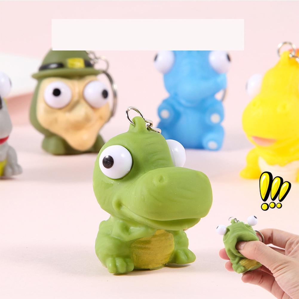 GloryStar Funny Squeezing Soft Cute Decompression Children's Toy Pendant