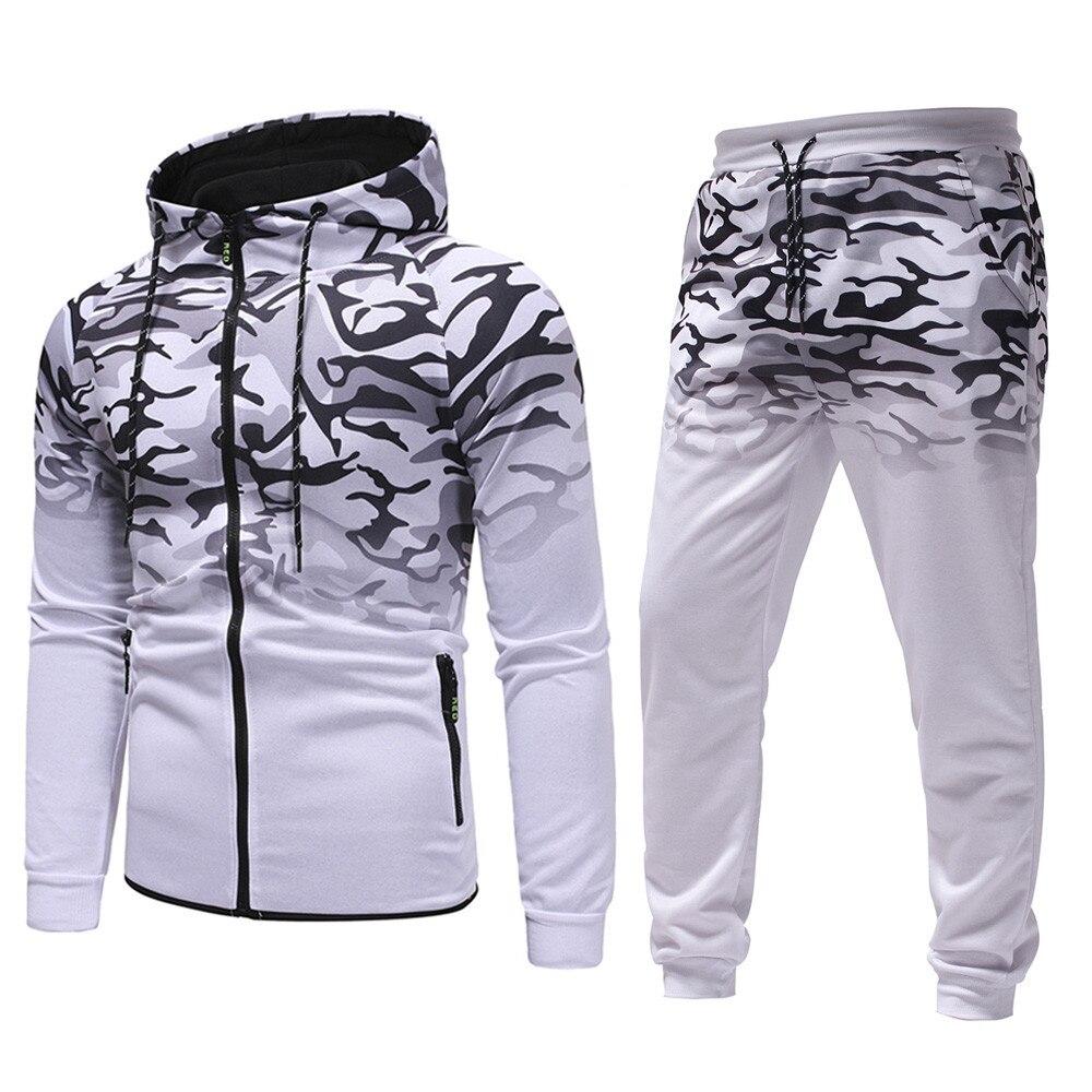 Track Suit Jogging Homme Hoodies Sweatshirt Top With Pants Autumn Winter Tracksuit Men Clothing Set Trainingspak Mannen D90522