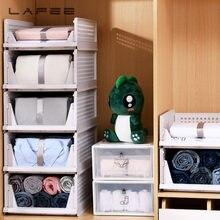 Layered guarda-roupa partição rack de armazenamento drawertype armário dobrável empilhável closetorganizer interspace prateleira organizador de roupas
