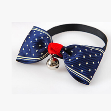 Bow-Tie Bells Collar-Accessories Pet Cat Kitten Cute Dog with Puppy Necktie Adjustable