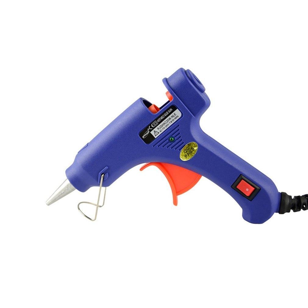 20W Hot Melt Glue Gun E Gun Diy Thermo Electric Silicone Glue Gun Heat Temperature Tool British Gauge Glue Gun