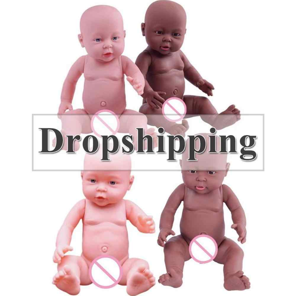 30/41cm תינוק סימולציה בובת רך ילדי Reborn תינוק בובת צעצוע יילוד ילד ילדה לחיקוי בובות תינוק צמיחה שותף גן