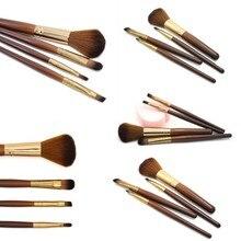 Soft Smooth Tool Makeup Fiber Brush 4 pcs Blush Brush Eye Shadow Brush Lip Makeup Brush Set недорого