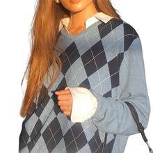 2020 Повседневный свободный осенне зимний вязаный свитер женский