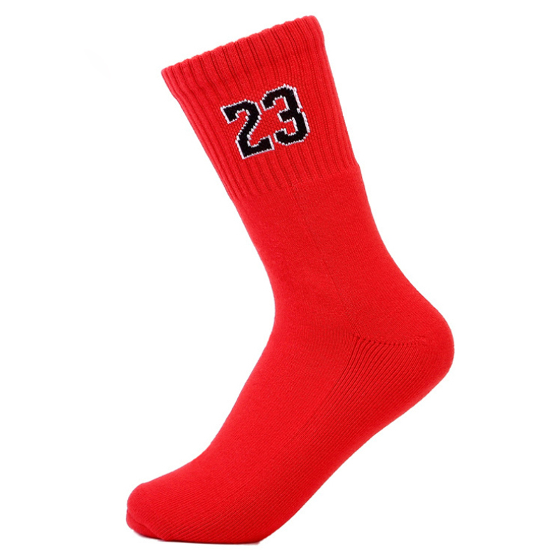 High Quality Brand Men's Socks Cotton Socks Professional No. 23 elite Basket Socks Thick Terry Male Socks calcetines