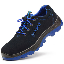 Sneaker Toe-Shoes Protective-Boots Soft-Light Puncture-Proof Comfortable Steel Anti-Smashing