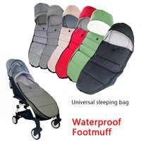 Uniwersalne wózki dla dzieci skarpety zimowe torba na sen wiatroszczelna dla Yoya Yoyo wózek ciepły pokrowiec na nogi akcesoria dla wózków dziecięcych