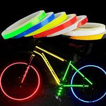 Светоотражающая лента MTB светоотражающие наклейки Стикеры Липкая лента велосипед крутой велосипед аксессуары для велосипеда Weel Велоспорт Mtb O4P2