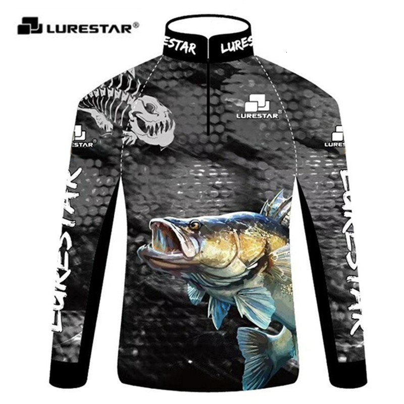 Professional Fishing Clothes Lightweight Soft Sunscreen Clothing Anti UV Jersey Bass Long Sleeve T Shirt Outdoors Hunting Pesca