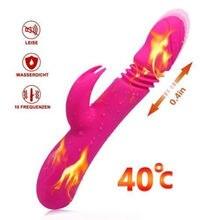 APHRODISIA Erhitzt Av Vibratoren Sex Spielzeug Für Frau USB Aufladbare Dildo Vibrator Dehnbar G-spot Massager Zauberstab Sex Maschine