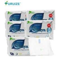 2-10Pack Shuya Sanitary Napkin Night Use Menstrual Pad women beautiful life Anion pads Kill Bacteria swab tampon