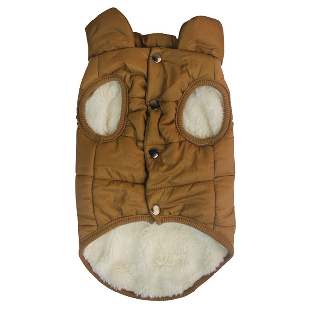 Фото winter pet jacket coat clothes for dogs winter clothing warm