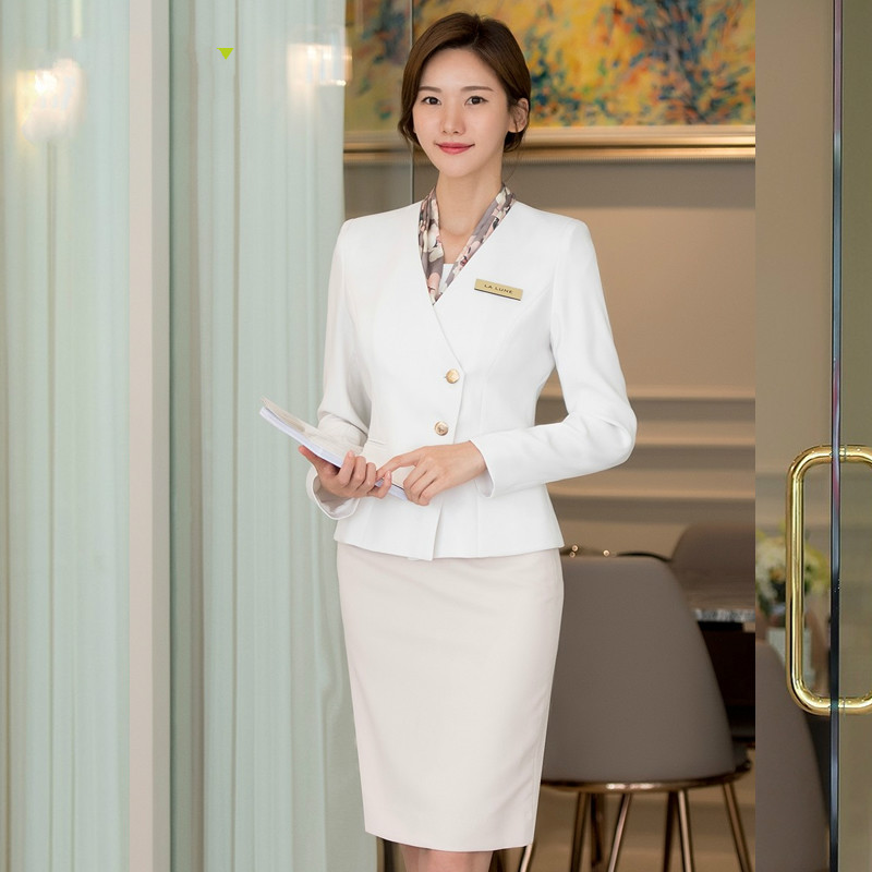 The Company Front Desk Set Ol Professional Clothing Female Senior Lecturer Consultant Manager Professional Clothing