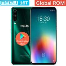 Новинка Meizu 16T VOLTE, 4G LTE, 6G/8G ram, 128 ГБ rom, Восьмиядерный процессор Snapdragon 855, экран 6,5 дюйма, 3 тыловая камера, сотовый телефон GOOGLE PLAY
