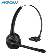 Mpow Wireless Bluetooth Headphone Crystal Clear With Microphone Headset For Driver Call Center Online Training School
