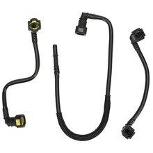 3PCS Filter Schlauch Kraftstoff Linie Kit für Mercedes Benz W163 ML320 ML350 ML430 ML55 AMG V6/8 OEM #1634703764 1634702864 1634702964